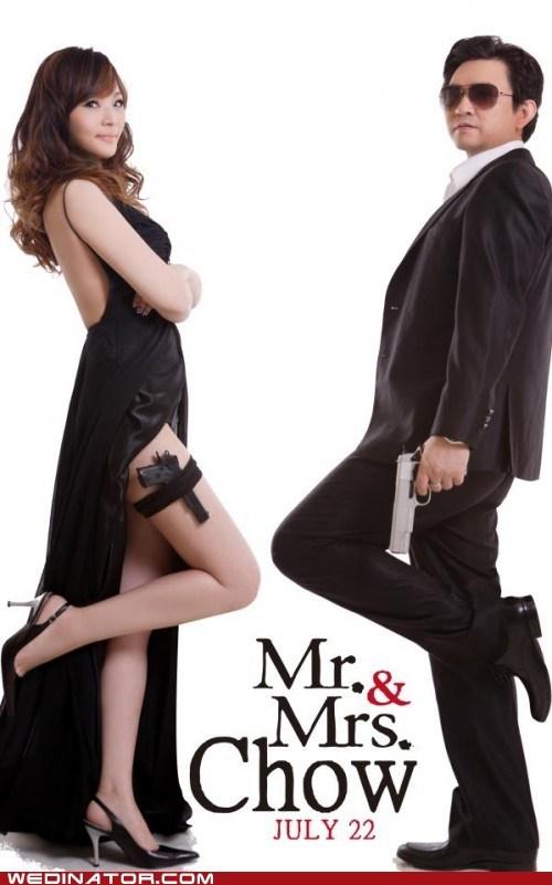 Angelina Jolie brad pitt funny wedding photos invitations movies mr and mrs smith - 6331658496