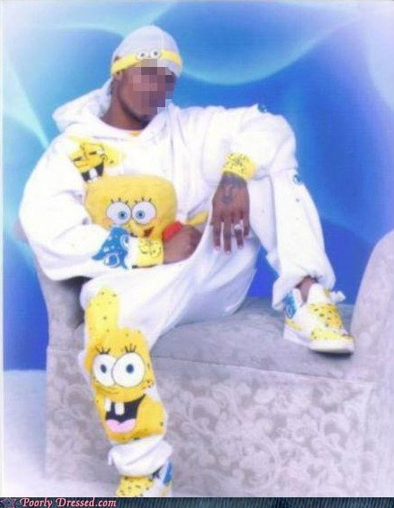 g rated ghetto Hall of Fame poorly dressed school SpongeBob SquarePants yearbook - 6331697152