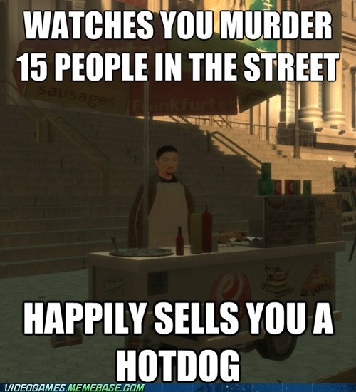 Grand Theft Auto hotdog liberty city rockstar the internets - 6332087552