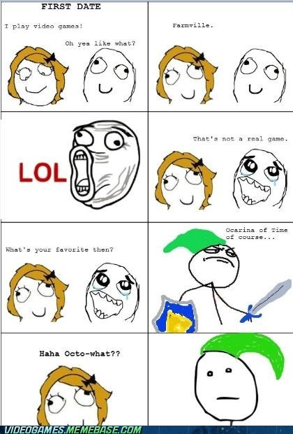 date ocarina of time rage comic zelda - 6332348928