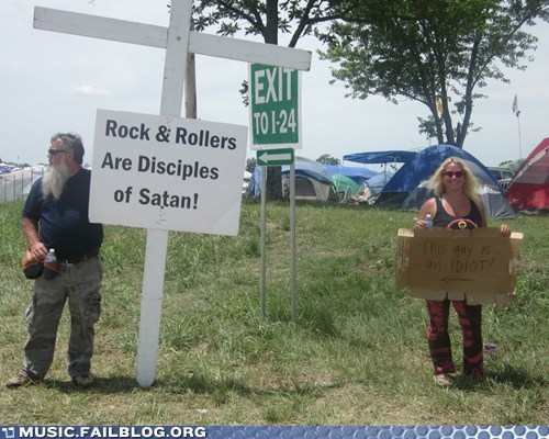 bonnaroo,devil,faith,religion,rock,satan