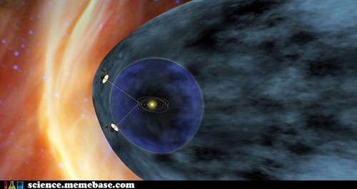 incredible Rocket Science solar system voyager I