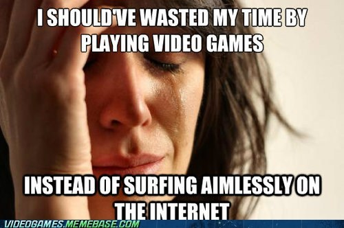 accomplishment achievements First World Problems meme the internets video games