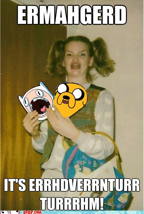 adventure time,best of week,cartoon-ermahgerd-berks,derp,TV