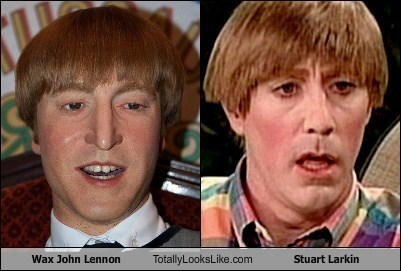 Wax John Lennon Totally Looks Like Stuart Larkin