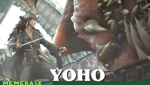 Johnny Depp Memes pirates yoho yolo - 6333064192