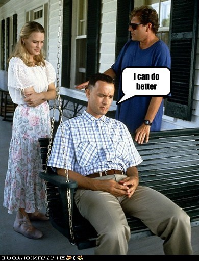 actor,celeb,Forrest Gump,funny,Movie,robin wright,tom hanks