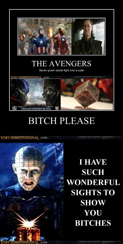 avengers hellraiser hilarious sites