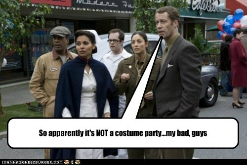 Colin Ferguson,costume party,eureka,fargo,jack carter,mistake,my bad