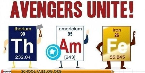 am avengers unite elements fe periodic table th - 6334108160