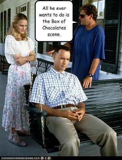 actor celeb Forrest Gump funny Movie robin wright tom hanks - 6334192384
