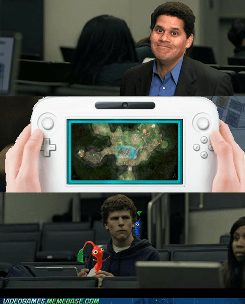 meme my body is ready pikmin 3 reggie fils-aime wii U - 6334200320