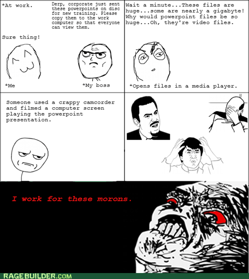 are you kidding me Rage Comics raisin rage work - 6334448128