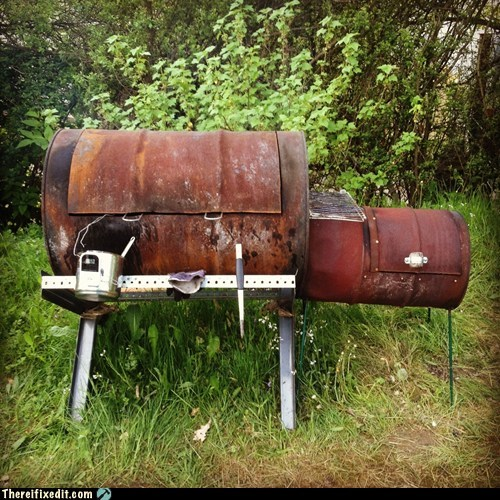 barbecue bbq grill rust smoker - 6334513664