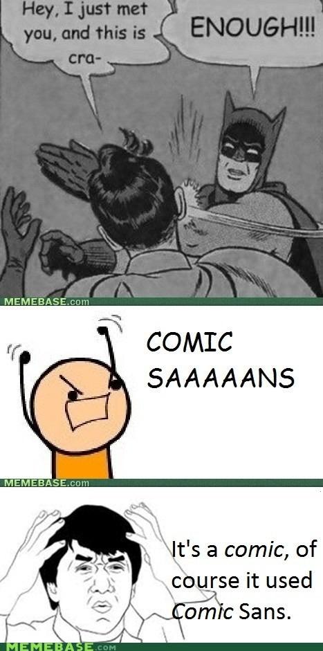 batman comic comic sans Rage Comics Reframe - 6334673408