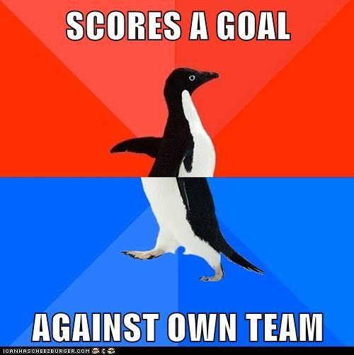 socially awkward socially awkward penguin - 6334736896