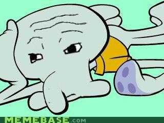 Memes SpongeBob SquarePants squidward that feel zoom gas - 6334801408