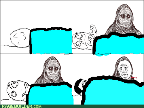 blanket Okay Rage Comics shadowlurker - 6335006720