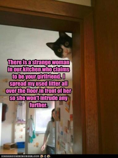 defend girlfriend intruder litter plan protect - 6335232768
