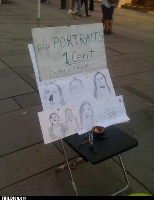 drawing portraits sidewalk artists - 6335429632