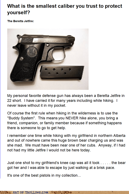 gun,relationships,review,shoppers beware