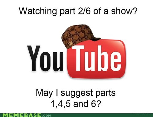 Scumbag Steve suggestions Video youtube - 6335441152