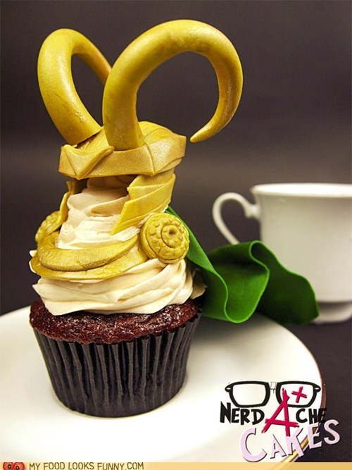 art,avengers,best of the week,fondant,helmet,horns,loki