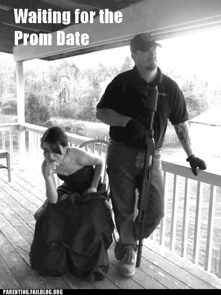 dad Hall of Fame prom date rifle - 6335799296