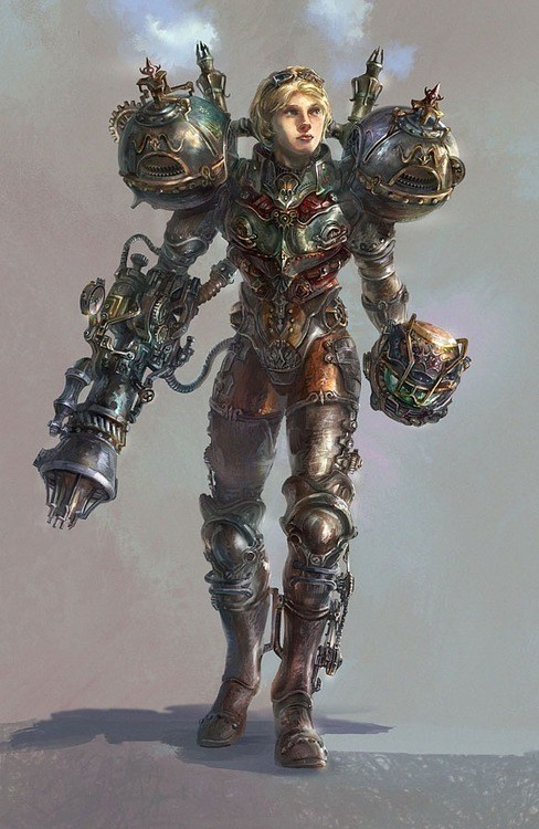 Fan Art Metroid samus Steampunk video games - 6335826432