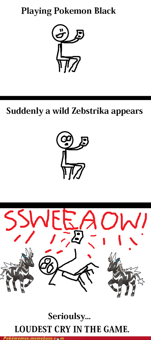 comic,pokemon cry,zebstrika