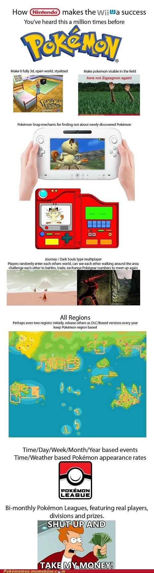 gamefreak nintendo Pokémon the internets video games wii U - 6335858944