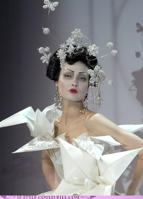 cool accessories Dior origami runway - 6336047616