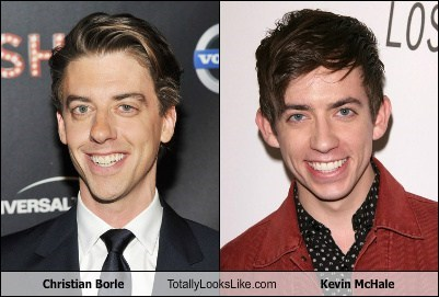 actor christian borle funny glee kevin mchale TLL - 6336058112