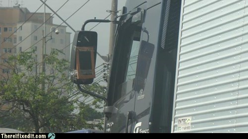 mirror semitruck tape truck - 6336130304