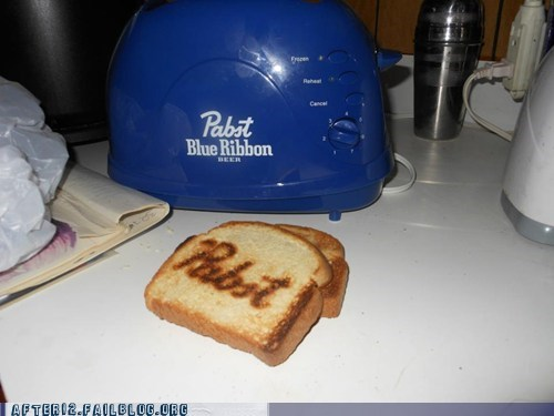 Hall of Fame pabst pabst blue ribbon pbr pbr toaster toast toaster