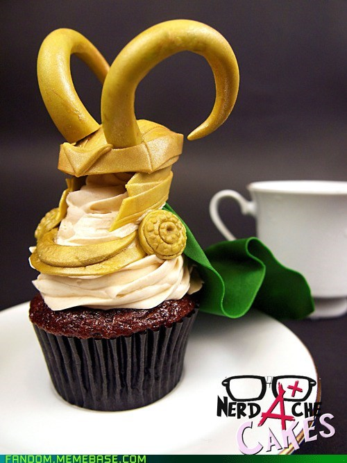avengers best of week cupcake Fan Art loki summer blockbusters - 6336218880