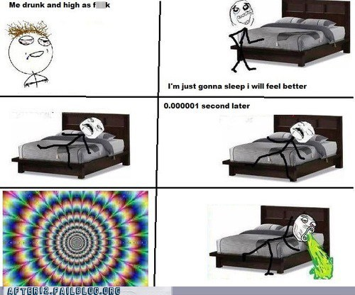 drunk,drunk dizzies,puke,rage comic