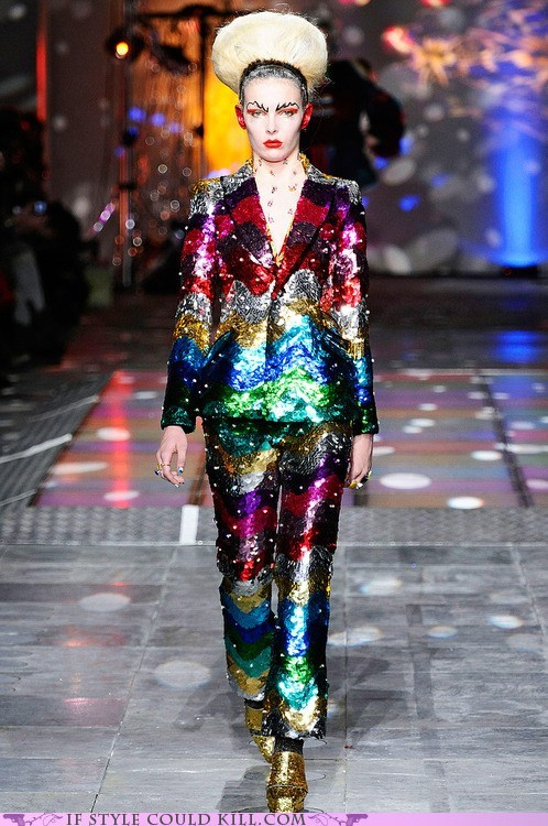 cool accessories rainbows runway suits - 6336285184