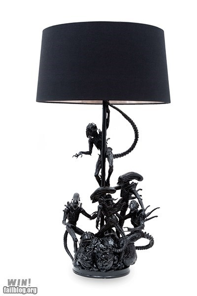 alien Aliens design g rated Hall of Fame lamp nerdgasm sci fi win - 6336292864
