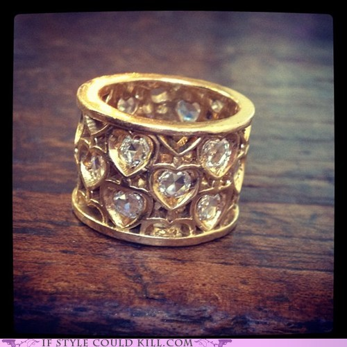 cool accessories hearts rings - 6336317440