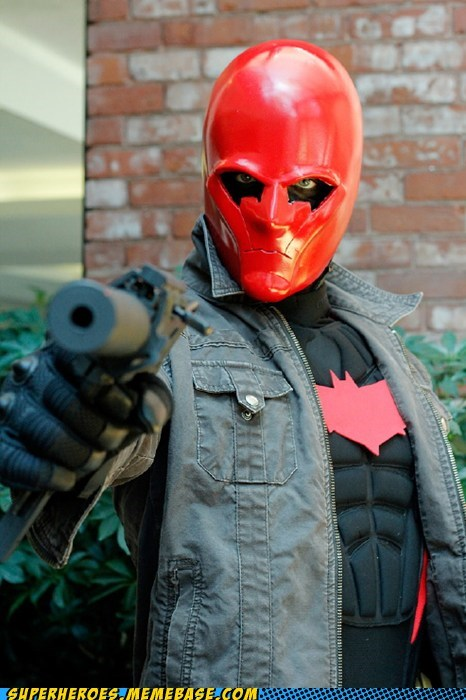 costume red hood robin Super Costume - 6336351488