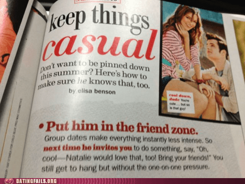 cosmo dating advice friendzone group dates one-on-one pressure