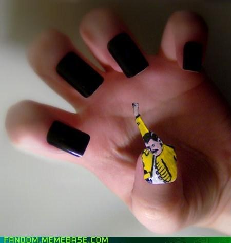 f yeah freddie Fan Art Memes nail art - 6336440064