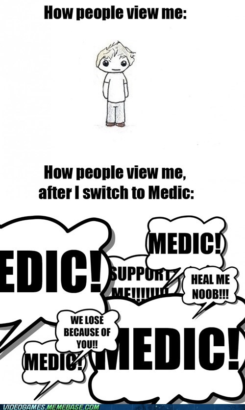 How People View Me medic meme support - 6336557056