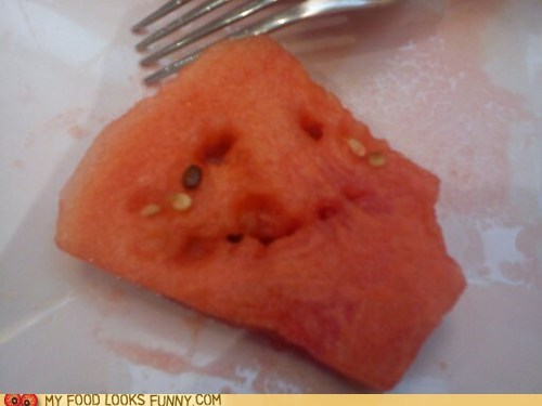 cry face forever alone watermelon - 6336588032