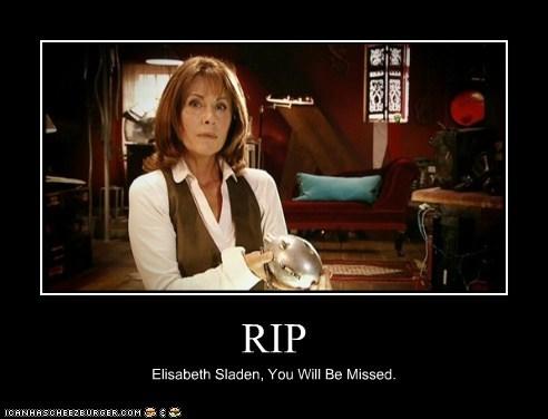 RIP Elisabeth Sladen, You Will Be Missed.