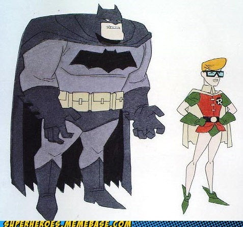 Awesome Art batman Bruce Timm dark knight robin - 6336811776