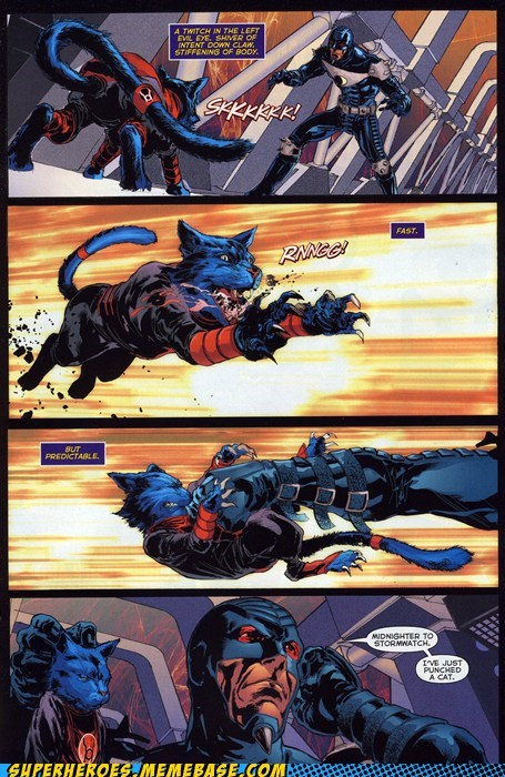 authority cat midnighter punch stormwatch Straight off the Straight off the Page - 6337090048