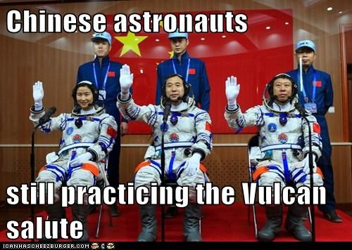 chinese astronauts,political pictures