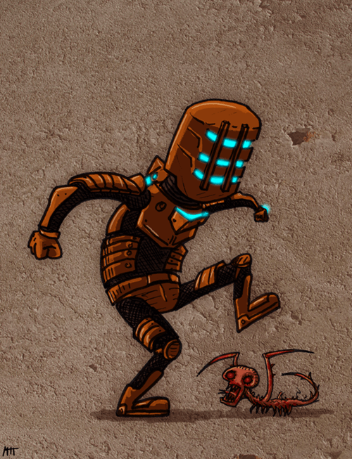dead space Fan Art horror video games - 6337391616